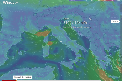 Wind MAP & Forecast
